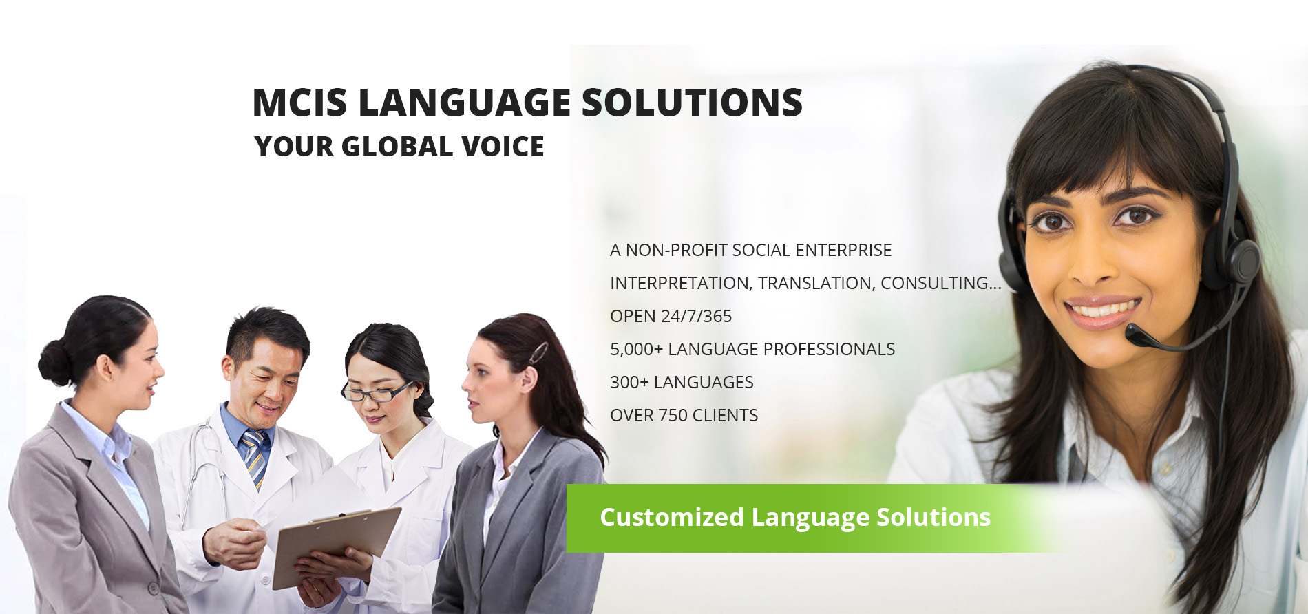 MCIS Language Solutions. Your Global Voice.