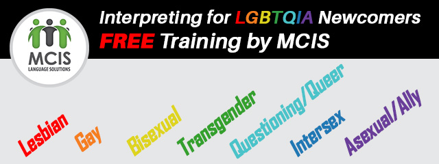 MCIS LGBTQIA Training